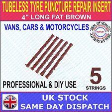 """TUBELESS TYRE PUNCTURE REPAIR INSERT (4"""" LONG)"""