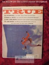 TRUE March 1966 CLIMBING ALBERT ELLIS ACUPUNCTURE +++