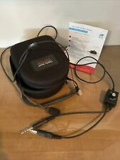 Clarity Aloft Aviation Headset Used With Case