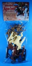 Paragon - Mounted Apaches Batch 6 Set 3 6 Riders and 6 Horses NIP Diorama Figure