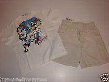 Children's Place Football Shirt & Cargo Shorts Set ~ Size 18-24 Months ~ NWT