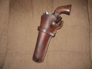 Hunter Belt Holster Ruger Blackhawk 6 1/2 in LEFT GC 210415
