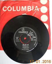 "Stranger On The Shore Acker Bilk 7"" vinyl single record UK DB4750 COLUMBIA EXC"