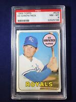 1969 Topps Ed Kirkpatrick #529 PSA 8 Kansas City Royals