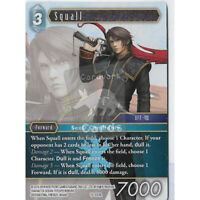 Ice Final Fantasy TCG: Opus 1 Rare Squall 1-042R Standard // Foil