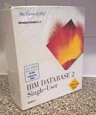 Vintage/Retro software-base de datos de IBM 2 (DB2) OS/2 versión 2.1 Sellado 1995
