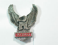 Suzuki  Motorcycle Pin Eagle Pin, Vintage (Choice of 1-Gold or Silver tone) (**)