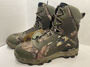 Red Wing Irish Setter Men's Vaprtrek LS  826 Hunting/Hiking Boots Camo Size 11 D