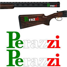 2x PERAZZI Italia Vinyl Decal Sticker. 5 sizes to choose from