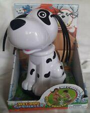 Wet Dog Sprinkler Water Toy Hooks To Water Hose Shakes His Head Sprays Water