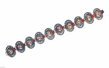Victorian Micro Mosaic Italian Bracelet