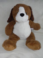 TESCO BROWN DOG SOFT TOY PUPPY COMFORTER DOUDOU