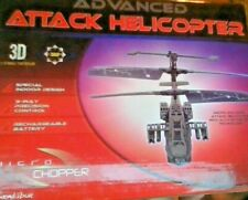 EB excalibur advanced attack helicopter INFRATED R/C / 3D - 3 CHANNEL CONTROLLER