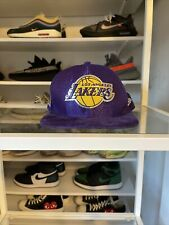Los Angeles Lakers LA New Era 9Fifty Velvet Lux Purple Snapback Hat Cap