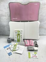 Huge Nintendo Wii Fit Plus Bundle with Balance Board Tested Working Complete IOB