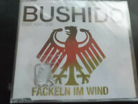 BUSHIDO   feat.  KAY  ONE   -  FACKELN  IM  WIND   , CD  2010 ,  HIP HOP,  NEU