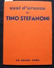 Vasi d'arance di Tino Stefanoni, Ed. Soligo Roma, 1993. Testo di Tommaso Trini