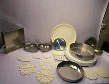 20 Pc Professional Cake Decorator Baker Lot Tier Pan Carrier Stand Wilton