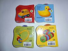 4 x Buggy-Buch - Tiere, Mein Tag, Meine Welt und Spielzeug