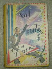 RARE, 1938, 1ST EDITION, ORIGINAL DJ, CECIL BEATON'S NEW YORK, NYC, ART