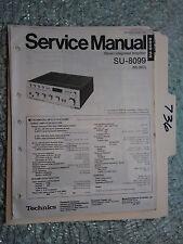 Technics SU-8099 Service Manual Original Reparatur Buch Stereo Amp Verstärker