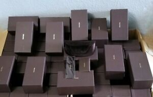 LOT of 96pcs TOM FORD LARGE BROWN SUNGLASSES /EYEGLASSES CASES+CLOTH+WTY CARD