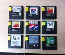 Saga genesis JEUX-Job Lot-Tous les 9 jeux inclus dans le prix!