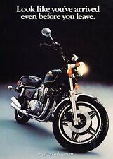 1981 Honda BC900 Motorcycle Bike - Original Advertisement Print Art Ad J630
