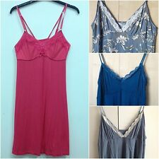 (02) WOMENS JERSEY CAMI/NIGHTDRESS UK SIZES 8-20 VARIOUS COLOURS
