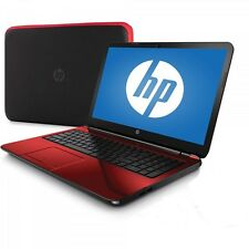 NEW Refurbished HP Flyer Red 15.6 15 f 272wm Laptop w Intel Pentium N3540, 500G