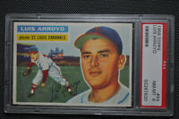 1956 Topps - Luis Arroyo - #64 - PSA 8 - NM-MT