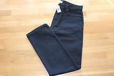 GAP JEAN MENS STRAIGHT BLACK COLOR SIZE 34X32 ZIP FLY NEW WITH TAG