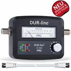 DUR-line SF 2400 Pro Sat Finder | Messgerät für Sat-Anlagen und Sat-Schüsseln