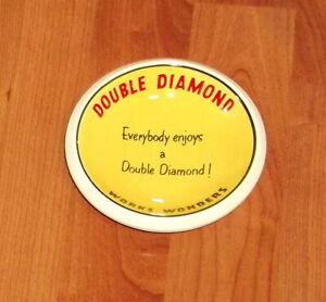 SUPERB DOUBLE DIAMOND..CERAMIC ASHTRAY..RARE VARIATION.