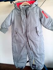NWT Baby Gap Snowsuit  Boys 3-6 M Aviator Pilot Snowsuit-Bundler Water Repellent