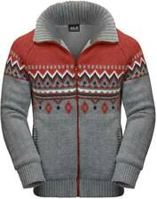 Jack Wolfskin Men's North Wind Jacket with Mexican Pepper (Red) design size 'L'