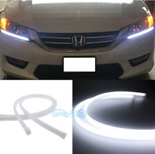 2Pcs Illuminating Headlight LED DRL Lights Retrofit For 13-15 Honda Accord Sedan