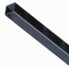 "2"" X 2"" Aluminum Fence Post 70"" Long With Post Cap - Black"