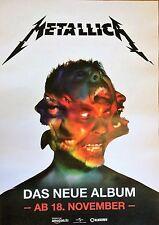 METALLICA  2016  ALBUM   - orig.Concert Poster -- Konzert Plakat  A1 NEU