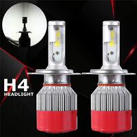2x 110W 9200LM H4 Bi-Xenon Hi/Lo LED Headlight Phare Conversion Lampe Ampoule