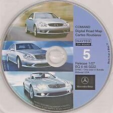 01 2002 MERCEDES BENZ SL SL500 SL55 SL600 NAVIGATION GPS 07 CD 5 IL IN MI OH WI