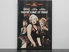 Some Like It Hot Mgm, Dvd 1959 - Marilyn Monroe - Tony Curtis