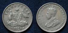MONETA COIN MONNAIE GREAT BRITAIN GRAN BRETAGNA KING GEORGE V° THREE PENCE 1926