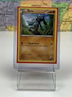 SHIPS SAME DAY Riolu - 46/124 - Common XY Fates Collide Pokemon Near Mint