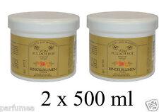 Calendula - Marigold - crème 2 X  500 ml Pour les peaux sensibles, stressés NEUF