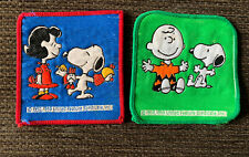 Peanuts Snoopy Charlie Brown Lucy SEW ON PATCHES VINTAGE