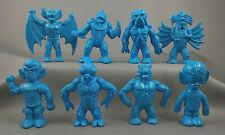 Diener Complete Set Of 8 Blue Space Creatures Monsters Aliens Rubber Premiums