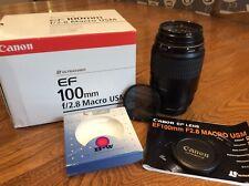 Canon Macro Lens EF 100mm f/2.8 USM + B+W UV Filter and Hoya Polar. Excellent.