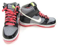 Nike Shoes Dunk High Metallic Grey/Pink/Black Sneakers  youth  4 Wo 6