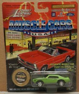 PONTIAC GTO JUDGE 1969 GREEN SASSY GRASS 69  5 OLD JL JOHNNY LIGHTNING